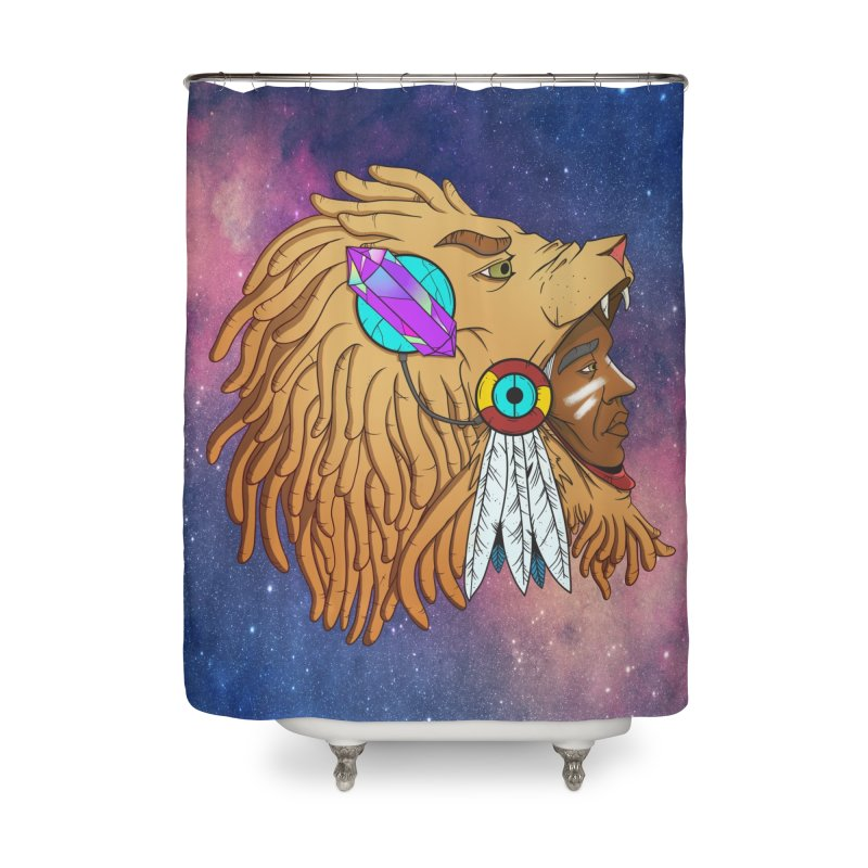 Crystal Shaman Home Shower Curtain by donvagabond's Artist Shop