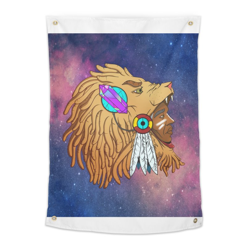 Crystal Shaman Home Tapestry by Don Vagabond's Artist Shop