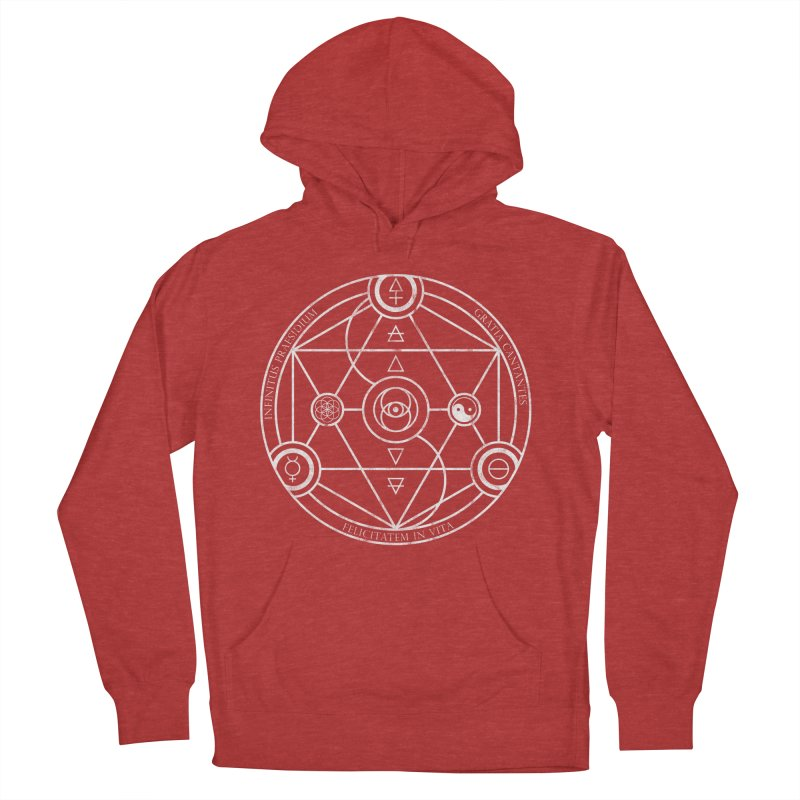 Protection Gratitude Happiness Men's Pullover Hoody by donvagabond's Artist Shop