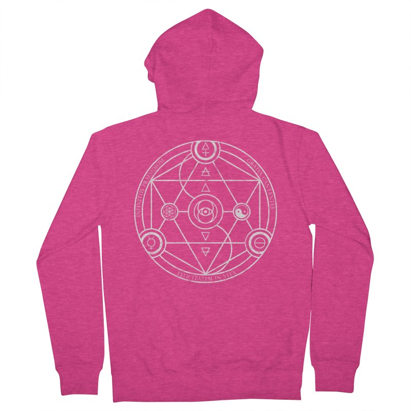 Protection Gratitude Happiness Women's Zip-Up Hoody by donvagabond's Artist Shop