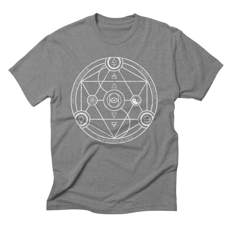 Protection Gratitude Happiness Men's Triblend T-shirt by donvagabond's Artist Shop