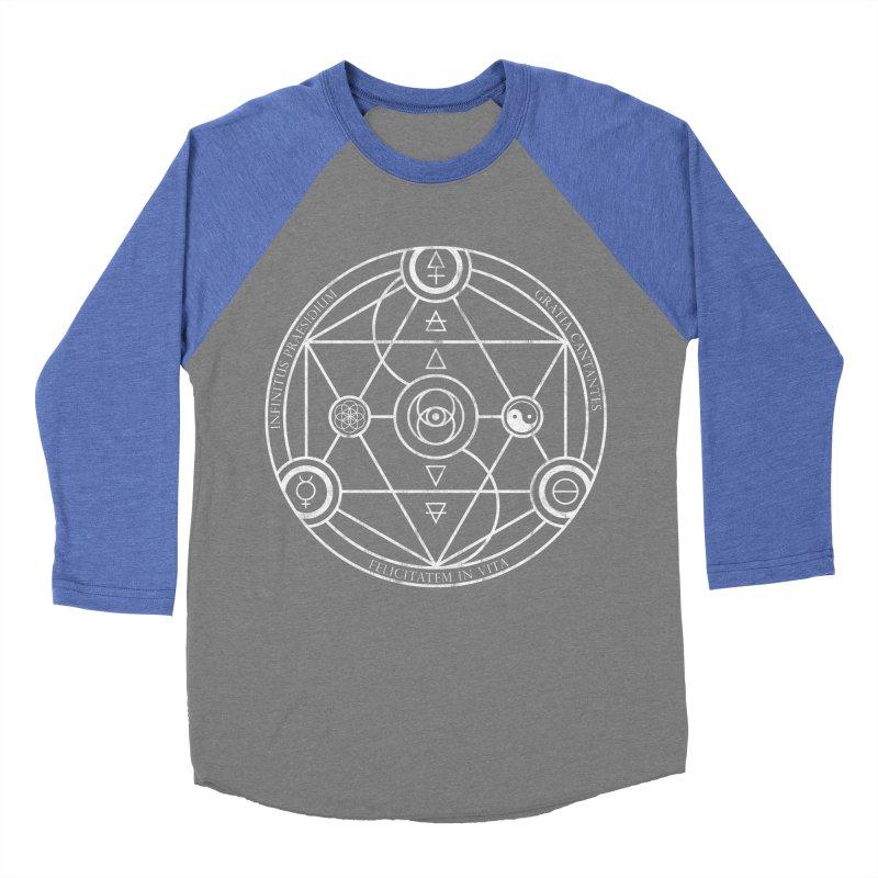 Protection Gratitude Happiness Men's Baseball Triblend T-Shirt by donvagabond's Artist Shop