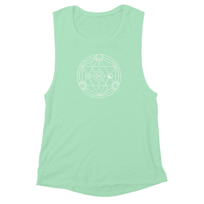 Protection Gratitude Happiness Women's Muscle Tank by donvagabond's Artist Shop