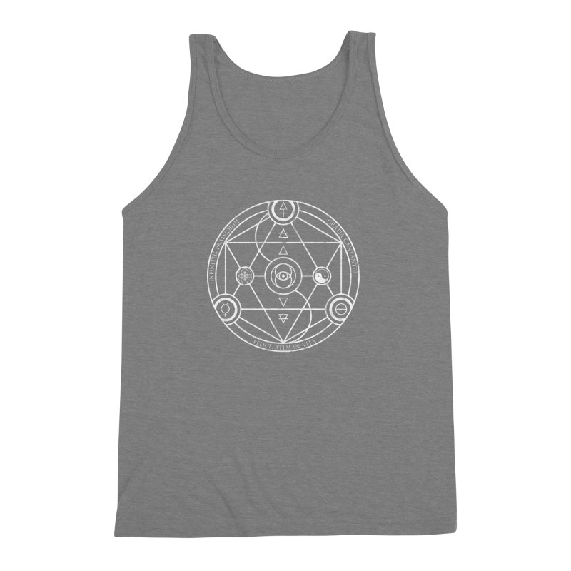 Protection Gratitude Happiness Men's Triblend Tank by donvagabond's Artist Shop