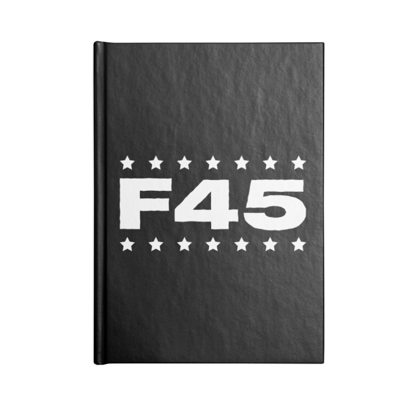 F45  (white) Accessories Notebook by donvagabond's Artist Shop
