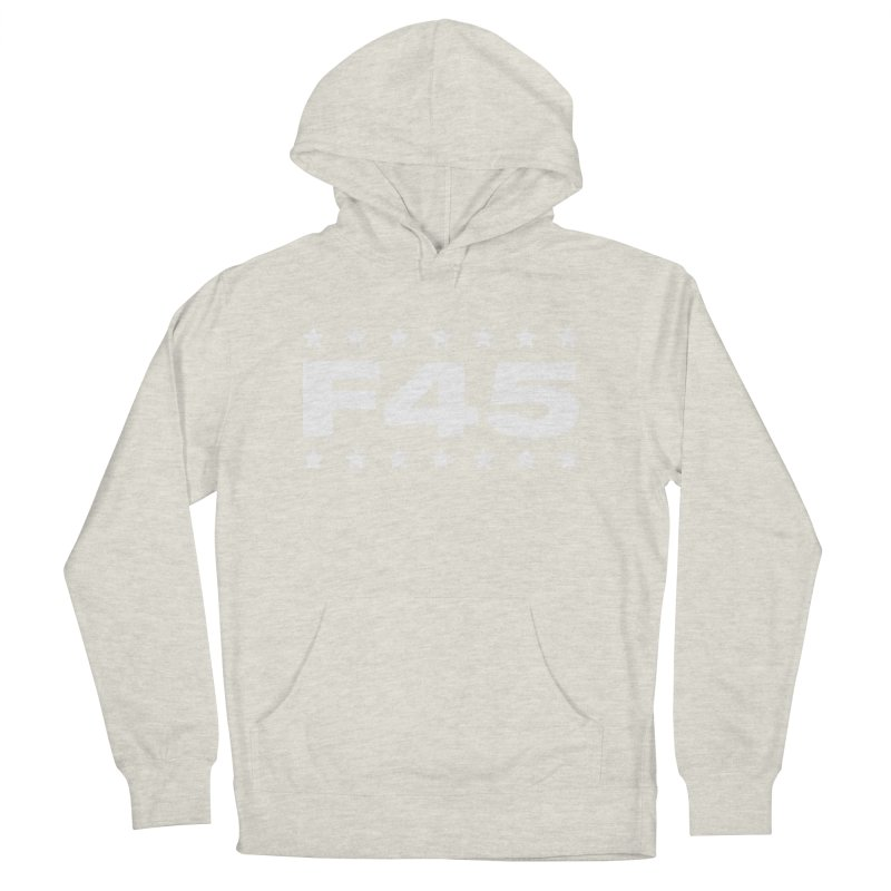 F45  (white) Women's Pullover Hoody by donvagabond's Artist Shop