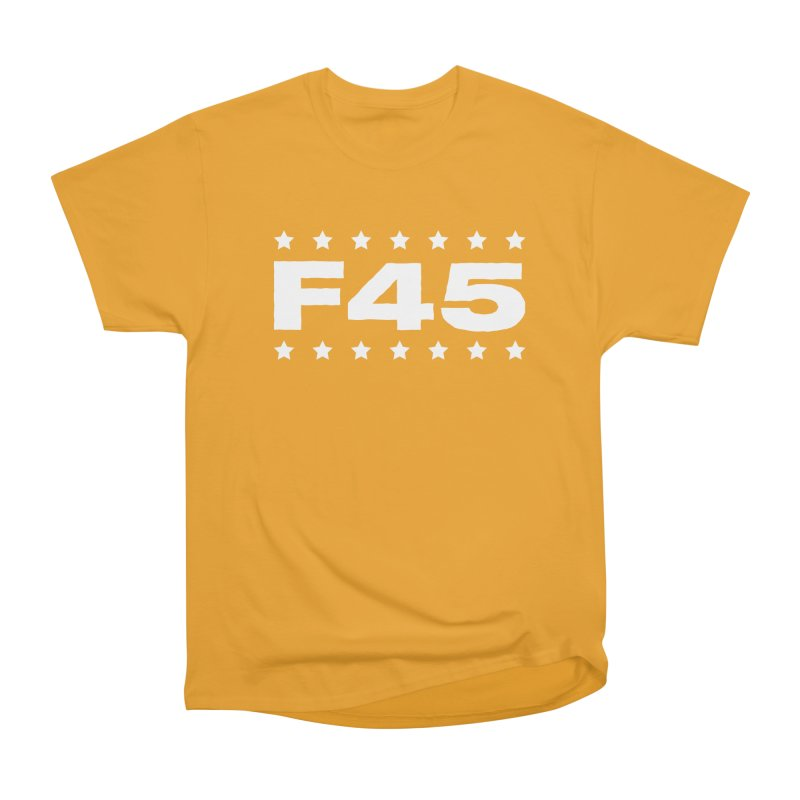 F45  (white) Women's T-Shirt by donvagabond's Artist Shop