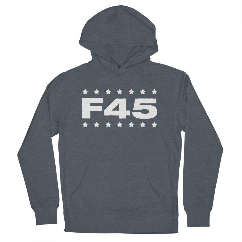 F45  (white) Women's Pullover Hoody by donvagabond's Artist Shop