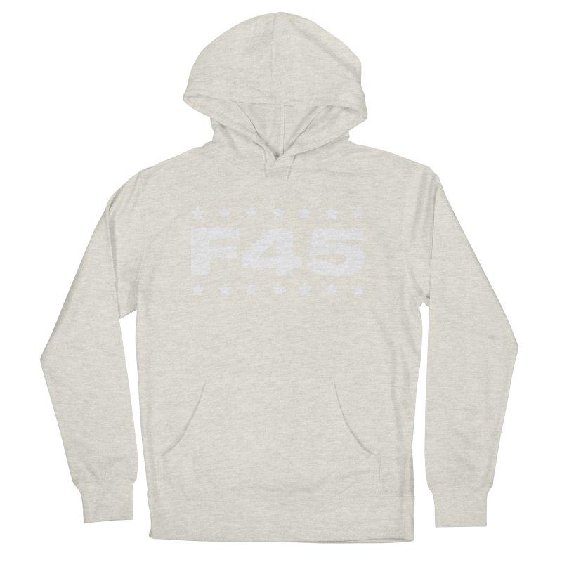 F45  (white) Men's Pullover Hoody by donvagabond's Artist Shop