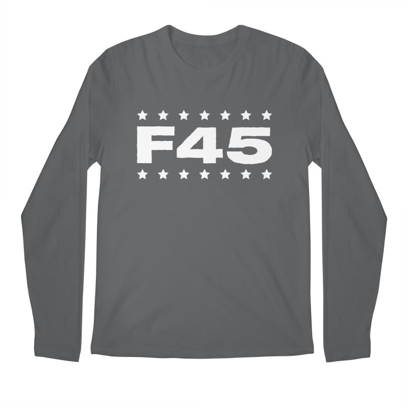 F45  (white) Men's Longsleeve T-Shirt by donvagabond's Artist Shop