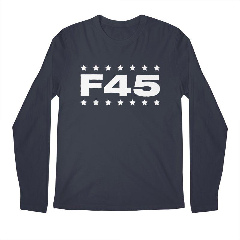 F45  (white) Men's Longsleeve T-Shirt by donvagabond's Artist Shop