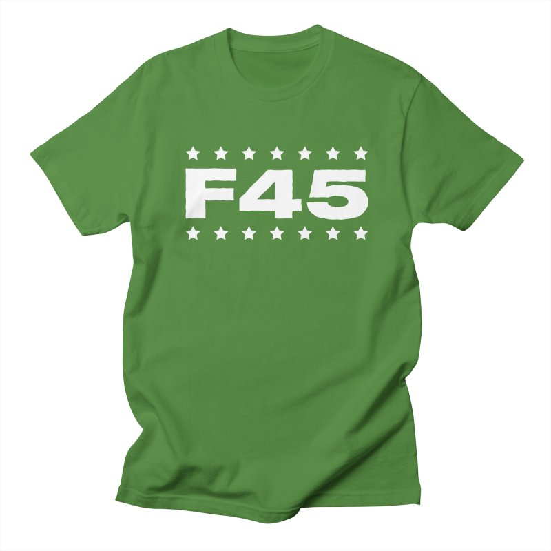 F45  (white) Men's T-Shirt by donvagabond's Artist Shop