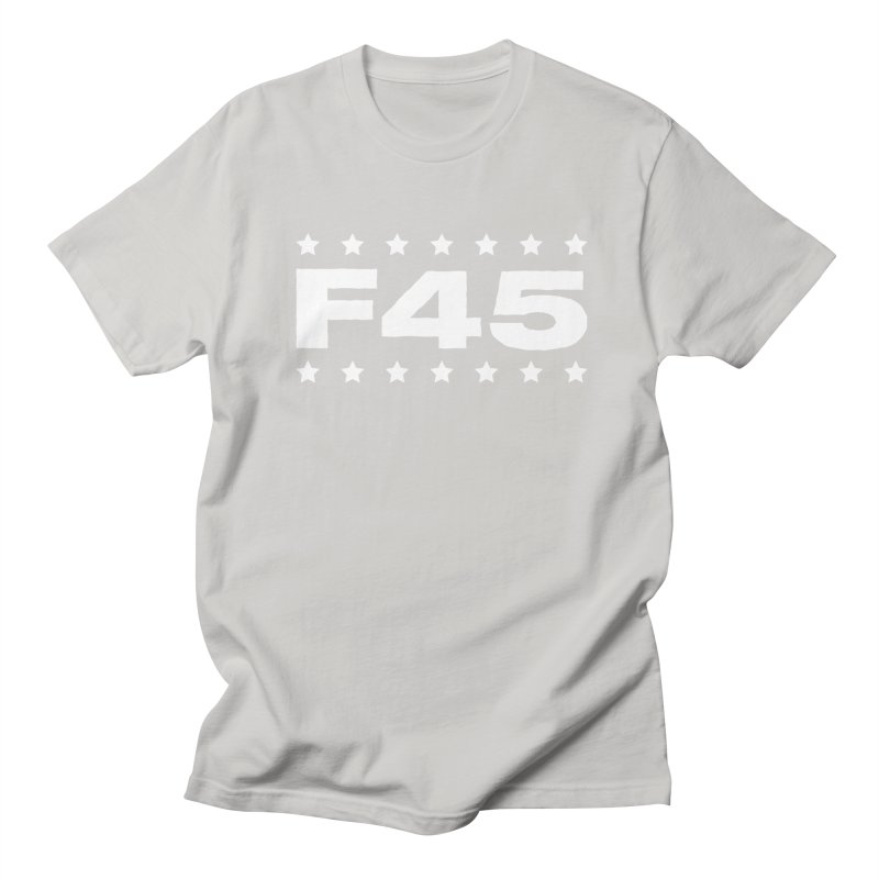 F45  (white) Women's Regular Unisex T-Shirt by donvagabond's Artist Shop
