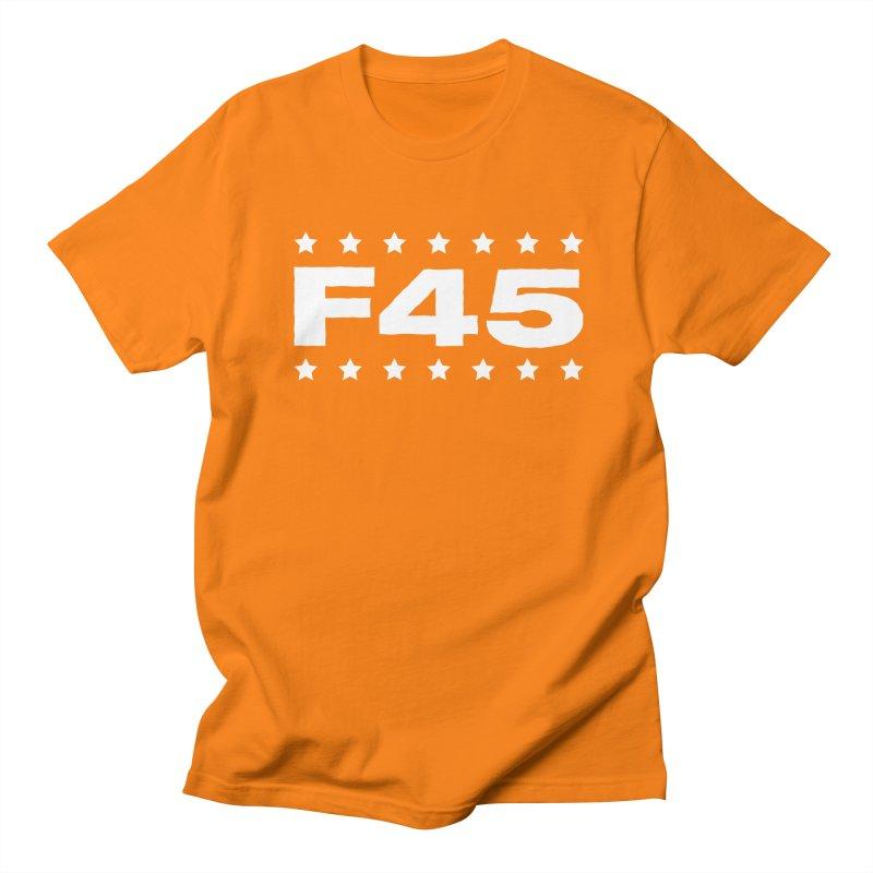 F45  (white) Women's Unisex T-Shirt by donvagabond's Artist Shop