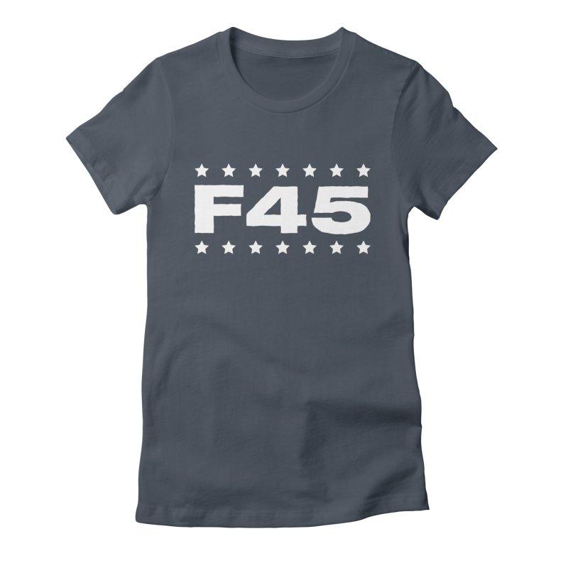 F45  (white) Women's T-Shirt by donvagabond's Artist Shop