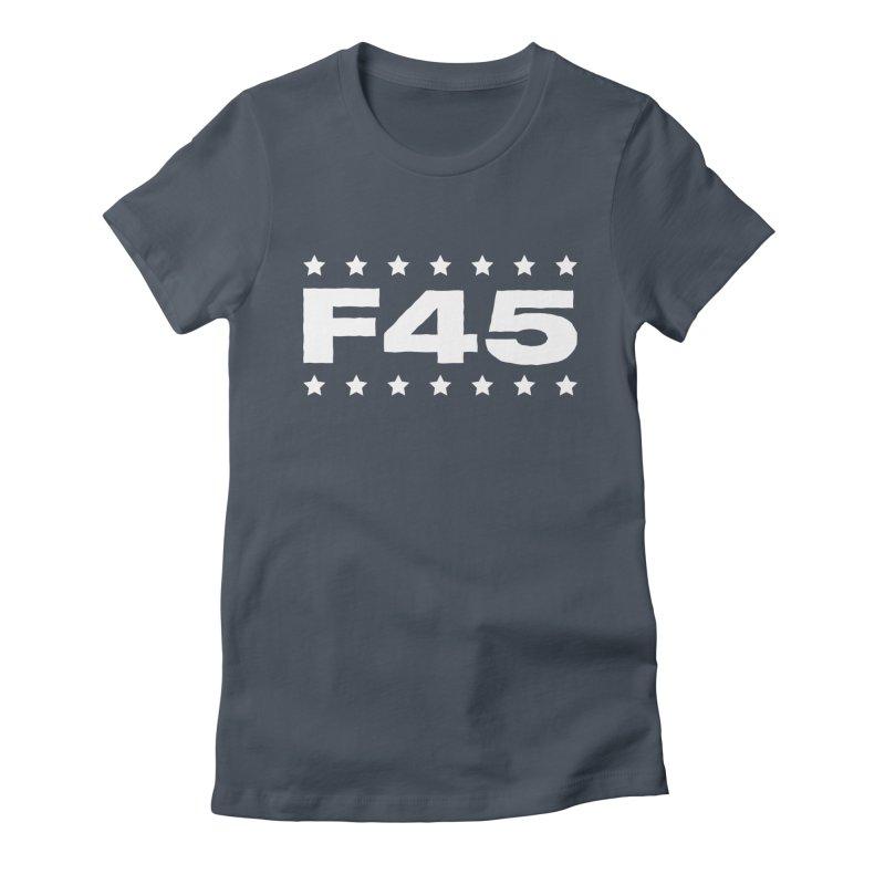 F45  (white) Women's Lounge Pants by donvagabond's Artist Shop