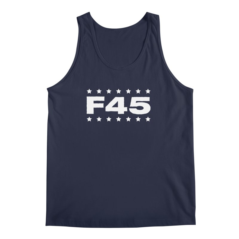 F45  (white) Men's Tank by donvagabond's Artist Shop