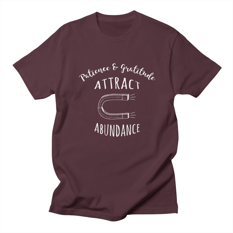Attract Abundance Men's T-Shirt by donvagabond's Artist Shop
