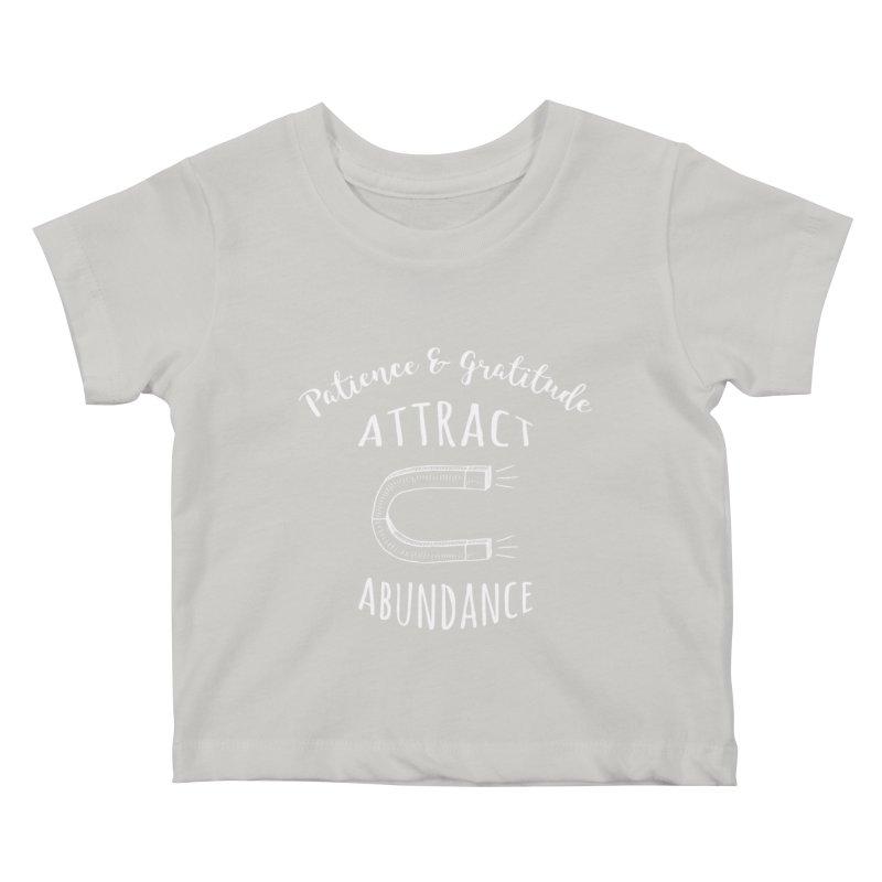 Attract Abundance Kids Baby T-Shirt by donvagabond's Artist Shop