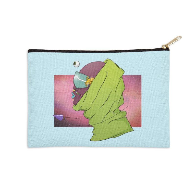 Guidance Accessories Zip Pouch by donvagabond's Artist Shop