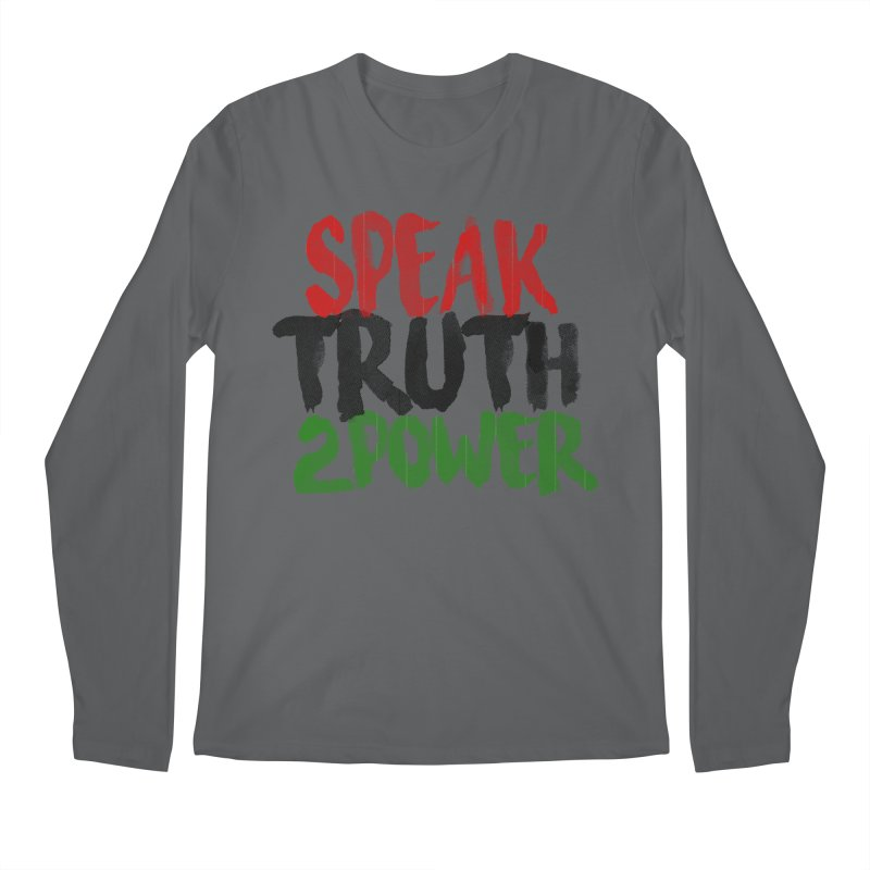 Truth 2 Power Men's Longsleeve T-Shirt by donvagabond's Artist Shop