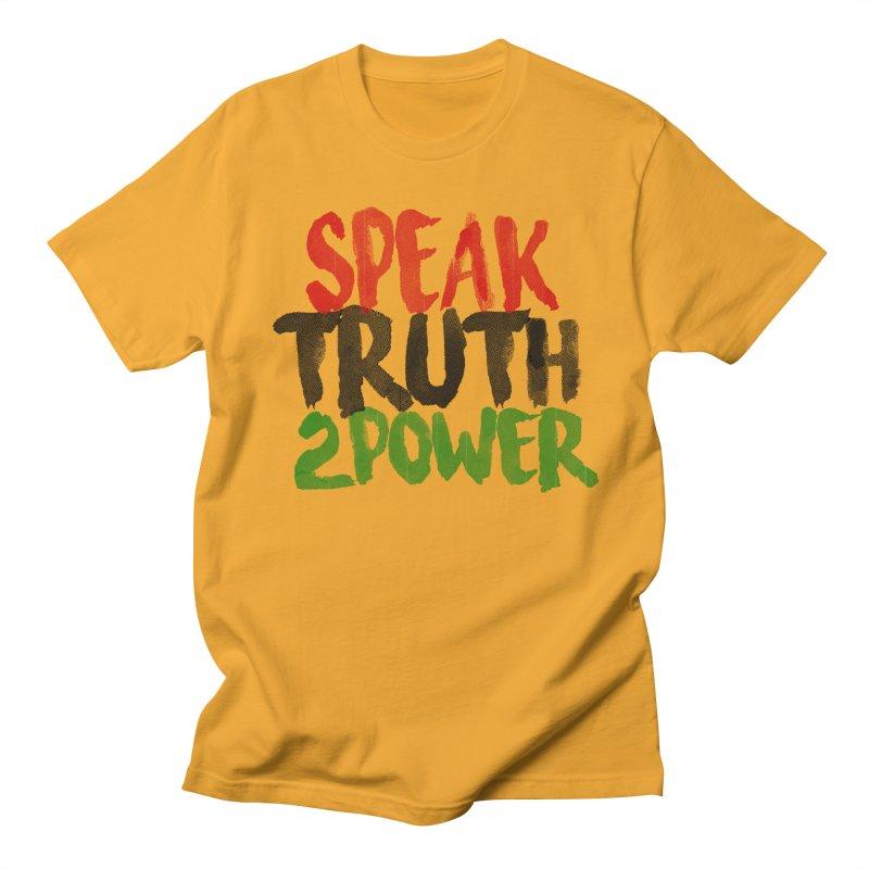 Truth 2 Power Men's T-shirt by donvagabond's Artist Shop