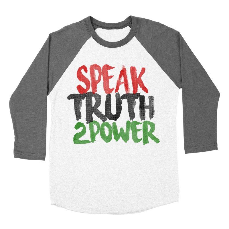 Truth 2 Power Women's Baseball Triblend T-Shirt by donvagabond's Artist Shop