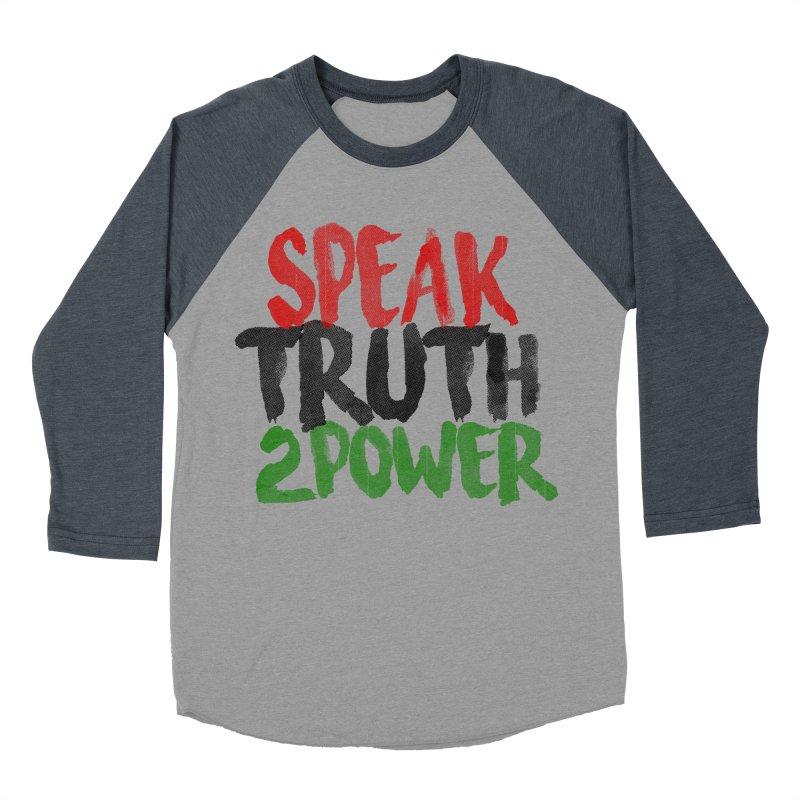 Truth 2 Power Men's Baseball Triblend T-Shirt by donvagabond's Artist Shop