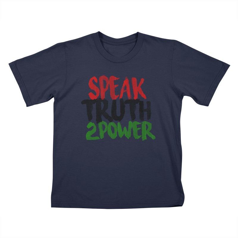 Truth 2 Power Kids T-Shirt by donvagabond's Artist Shop