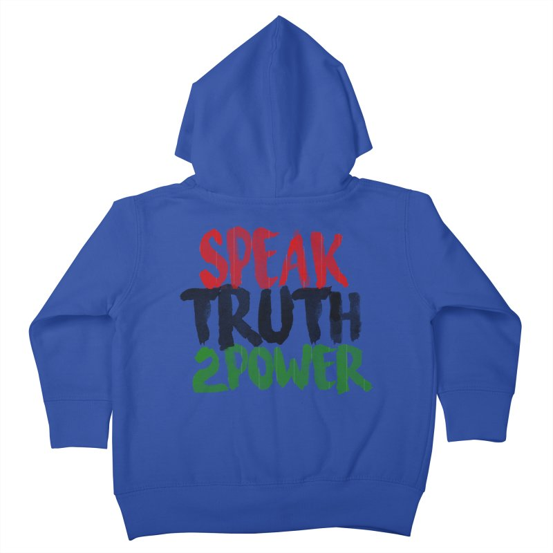 Truth 2 Power Kids Toddler Zip-Up Hoody by donvagabond's Artist Shop