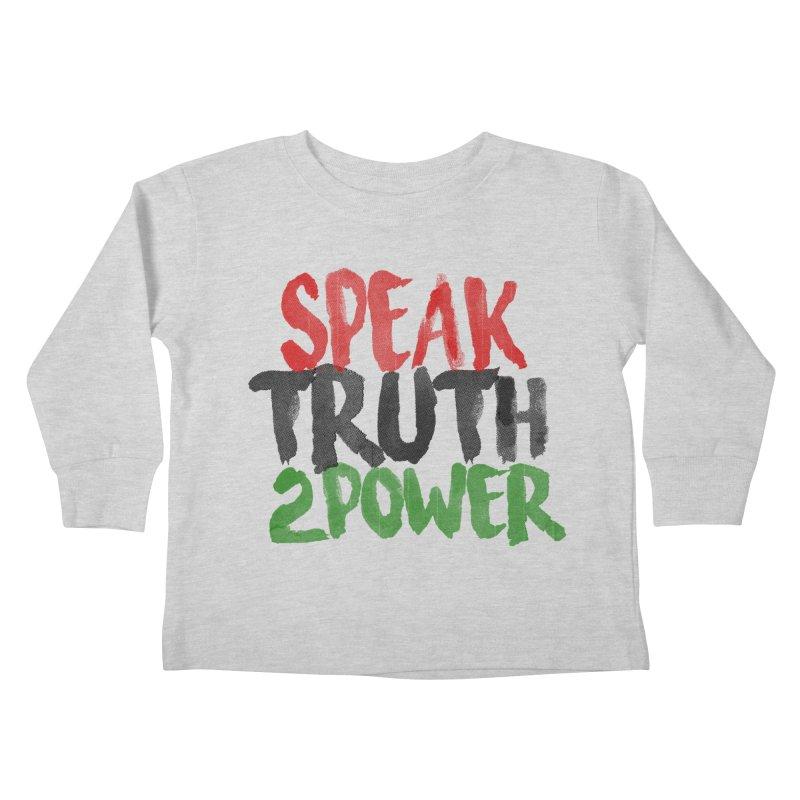 Truth 2 Power Kids Toddler Longsleeve T-Shirt by donvagabond's Artist Shop