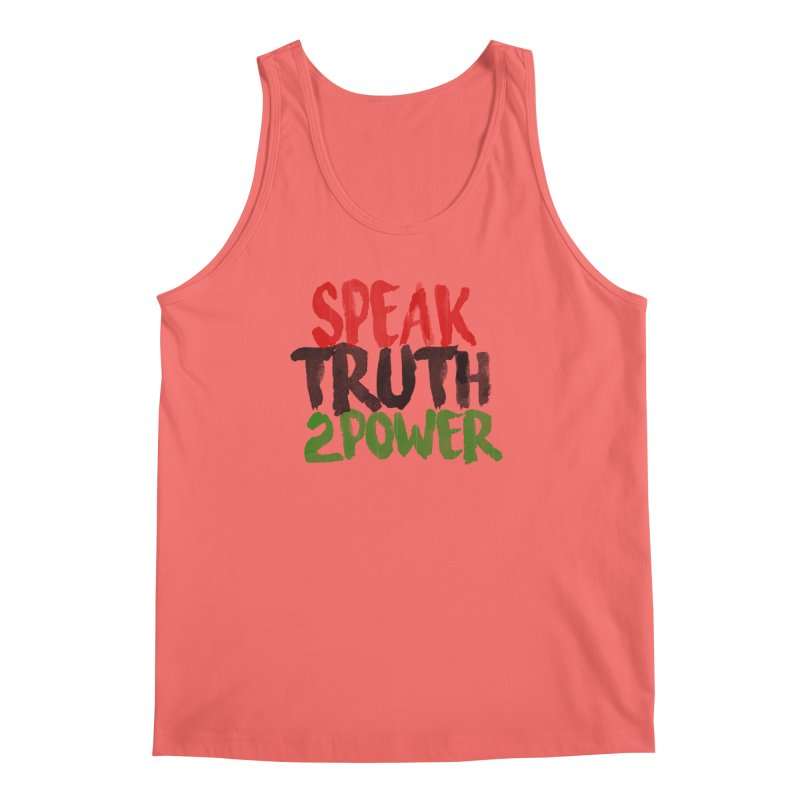 Truth 2 Power Men's Tank by donvagabond's Artist Shop