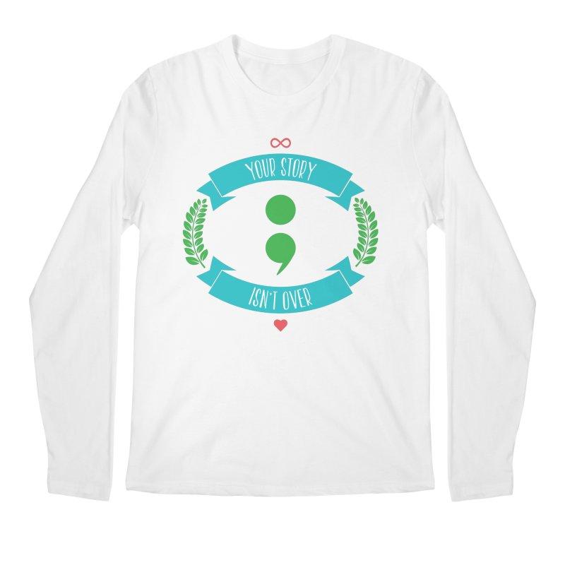 Your Story Isnt Over Men's Regular Longsleeve T-Shirt by Don Vagabond's Artist Shop