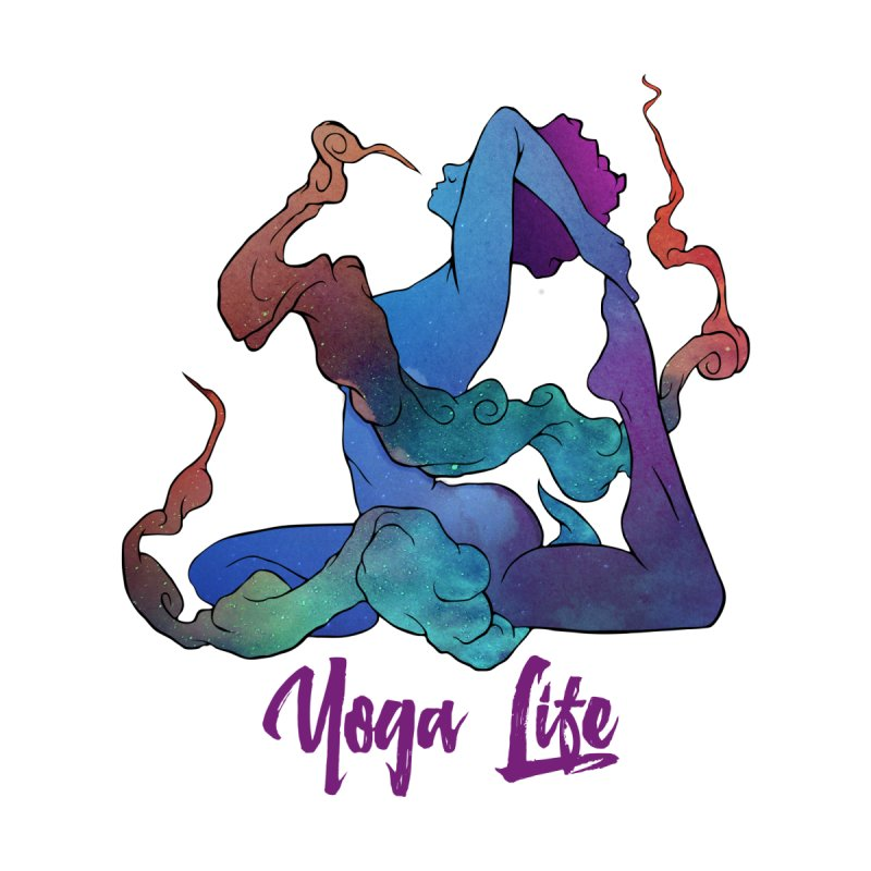 Yoga Life None  by donvagabond's Artist Shop