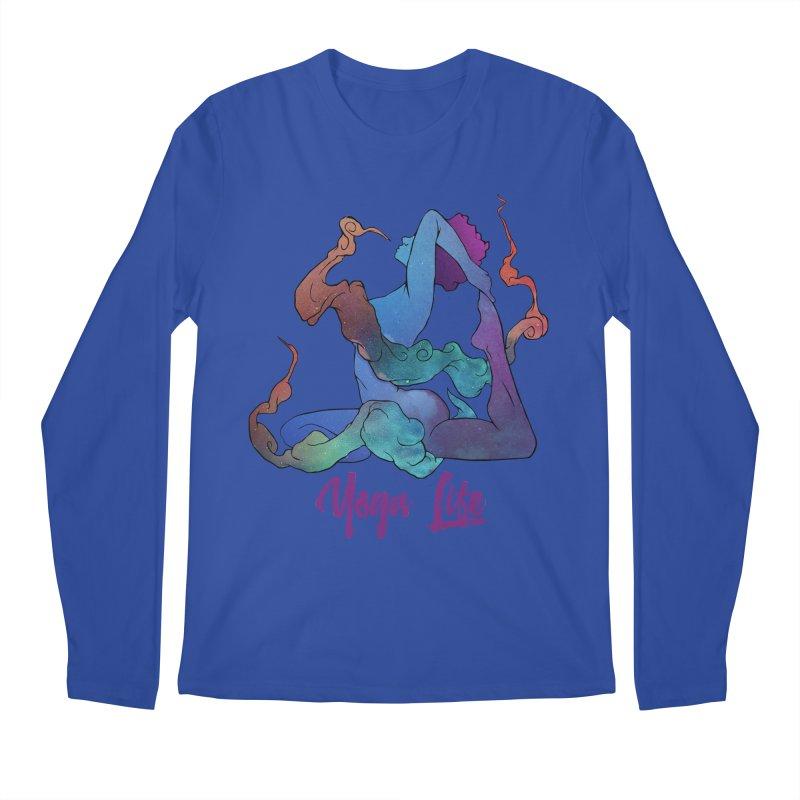 Yoga Life Men's Longsleeve T-Shirt by donvagabond's Artist Shop