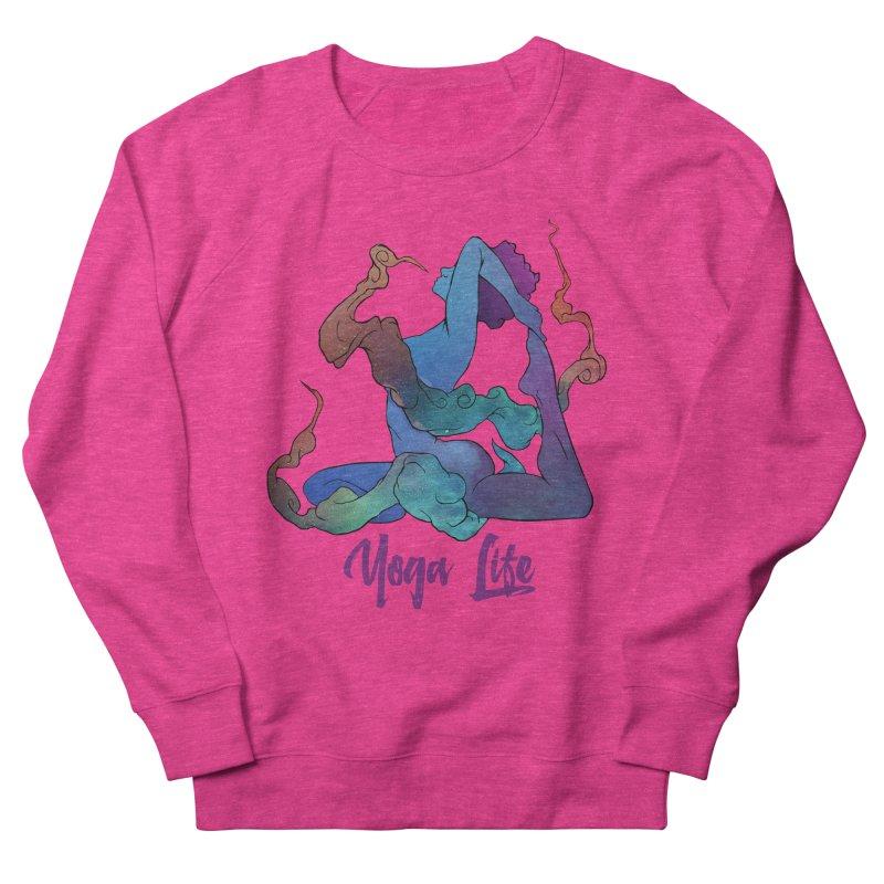 Yoga Life Men's Sweatshirt by donvagabond's Artist Shop