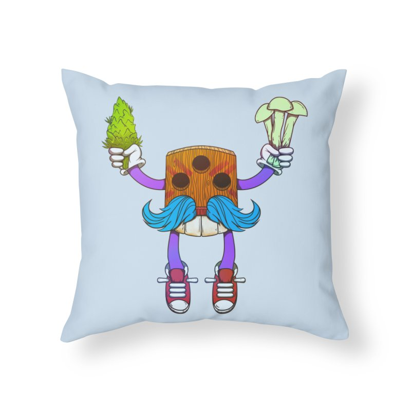 Mr. Medi Home Throw Pillow by donvagabond's Artist Shop
