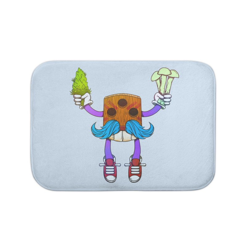 Mr. Medi Home Bath Mat by Don Vagabond's Artist Shop