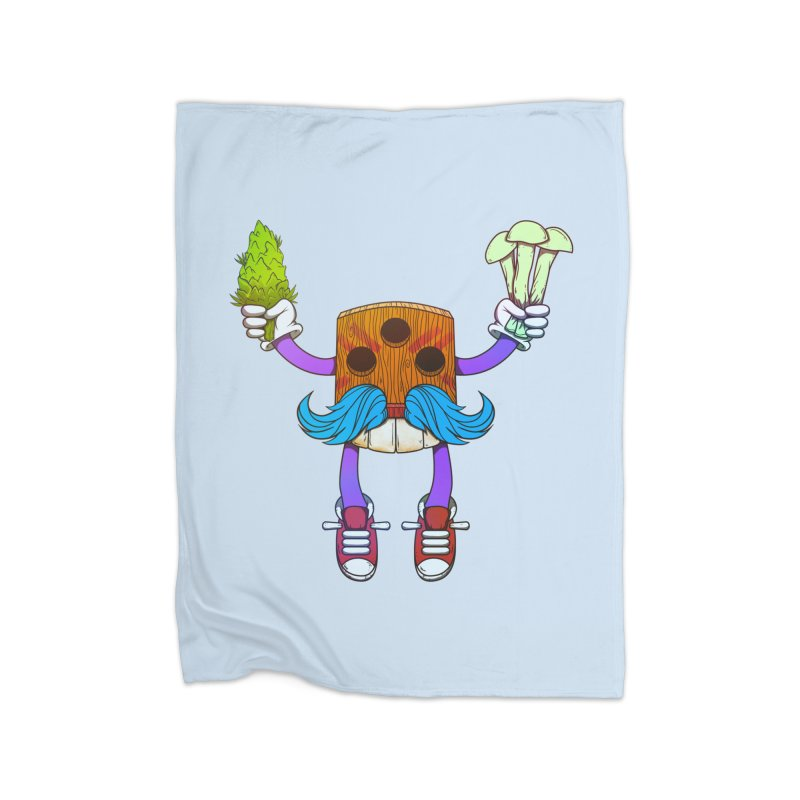 Mr. Medi Home Blanket by Don Vagabond's Artist Shop