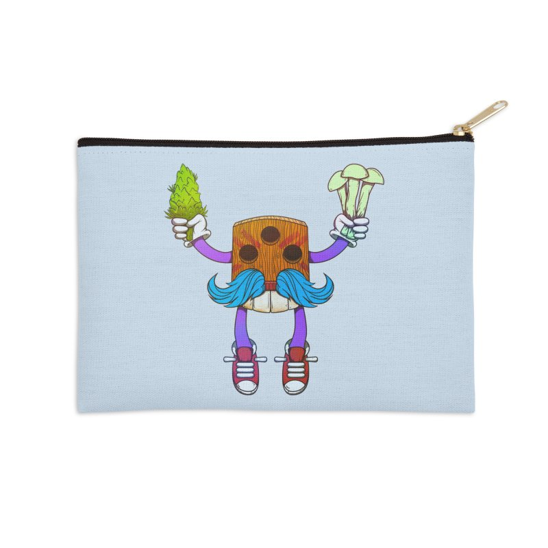 Mr. Medi Accessories Zip Pouch by donvagabond's Artist Shop