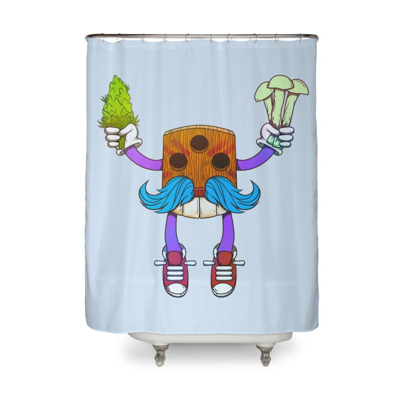 Mr. Medi Home Shower Curtain by donvagabond's Artist Shop