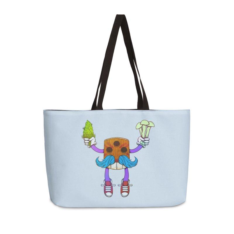 Mr. Medi Accessories Weekender Bag Bag by Don Vagabond's Artist Shop