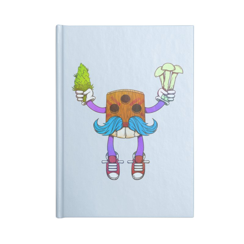 Mr. Medi Accessories Notebook by donvagabond's Artist Shop