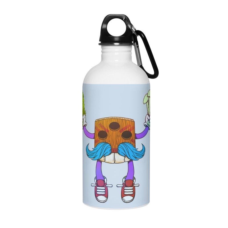 Mr. Medi Accessories Water Bottle by Don Vagabond's Artist Shop