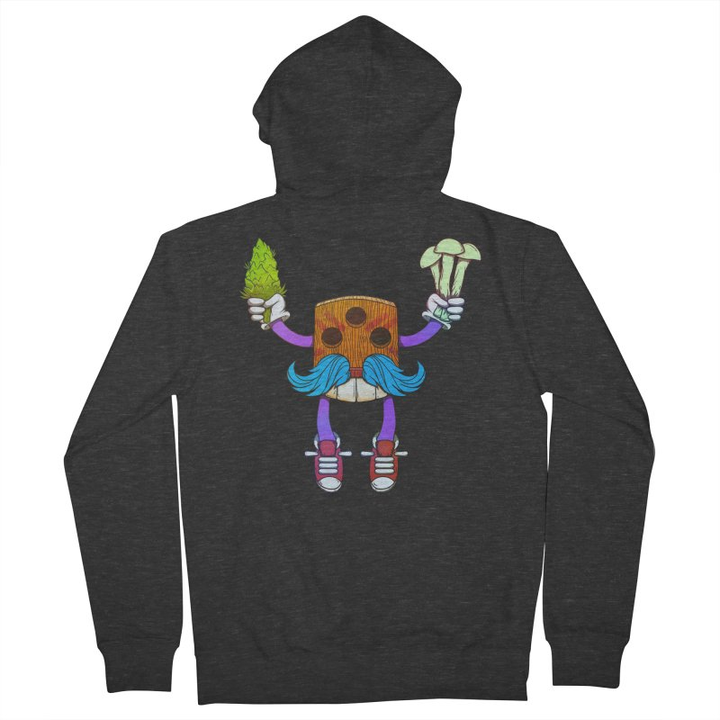 Mr. Medi Men's French Terry Zip-Up Hoody by Don Vagabond's Artist Shop