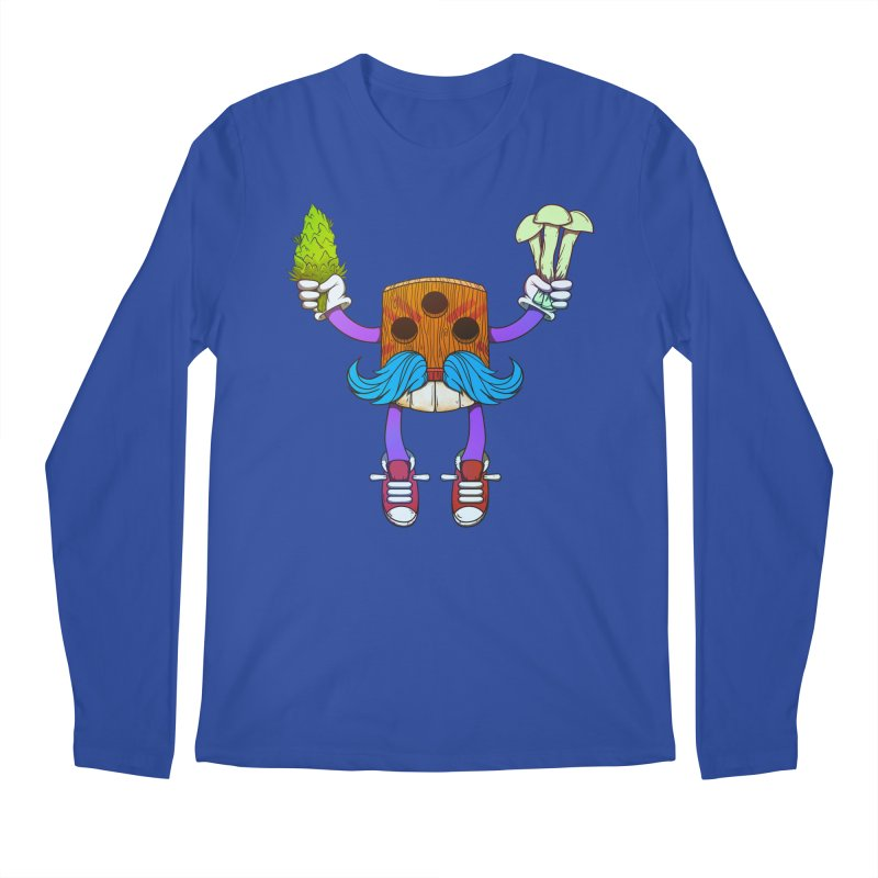 Mr. Medi Men's Regular Longsleeve T-Shirt by Don Vagabond's Artist Shop