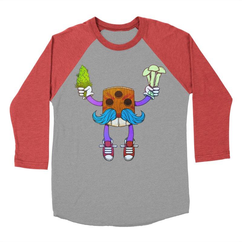 Mr. Medi Women's Baseball Triblend Longsleeve T-Shirt by donvagabond's Artist Shop