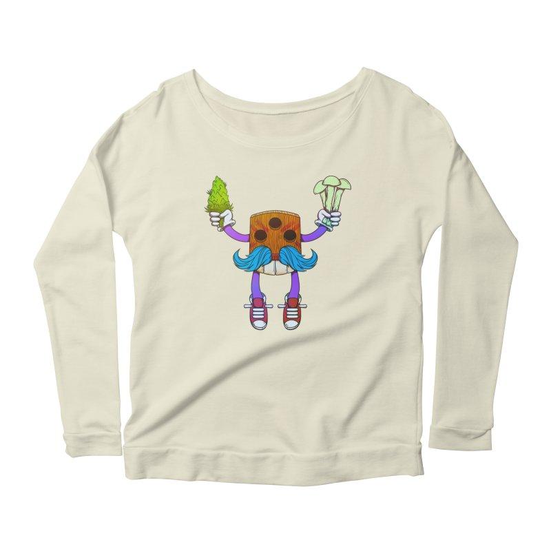 Mr. Medi Women's Scoop Neck Longsleeve T-Shirt by donvagabond's Artist Shop