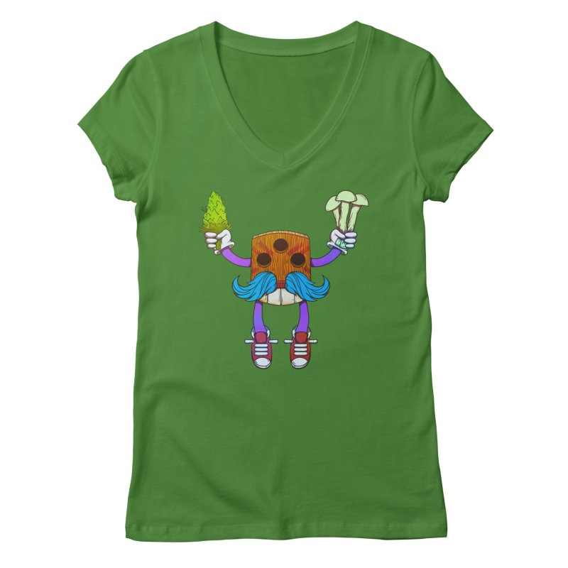Mr. Medi Women's Regular V-Neck by donvagabond's Artist Shop