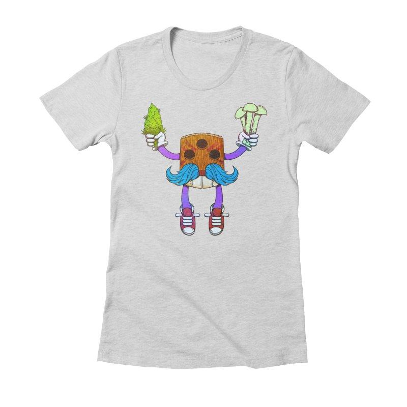 Mr. Medi Women's Fitted T-Shirt by donvagabond's Artist Shop